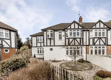 Thumbnail 4 bed semi-detached house for sale in Milner Drive, Whitton, Twickenham