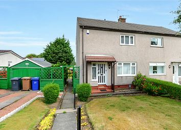 Thumbnail 2 bed semi-detached house for sale in Pine Crescent, Johnstone Castle