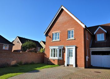 Thumbnail 5 bed link-detached house to rent in Dunlop Road, Dereham