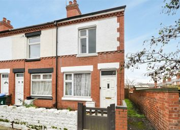 Thumbnail 2 bed end terrace house for sale in Holmfield Road, Stoke, Coventry, West Midlands