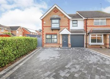 Thumbnail 3 bed town house for sale in Yale Drive, Wednesfield, Wolverhampton