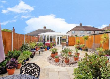 Thumbnail 3 bedroom semi-detached bungalow for sale in Belmont Road, Erith