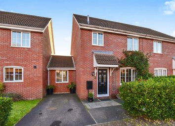 Thumbnail 3 bed semi-detached house for sale in Baileys Gate, Cotford St. Luke, Taunton