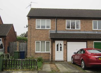 Thumbnail 3 bed semi-detached house to rent in Heron Walk, March