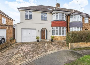 Thumbnail 4 bed semi-detached house for sale in Thorpe Village, Surrey