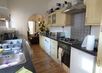 Thumbnail 4 bed terraced house to rent in Tewkesbury Street, Leicester