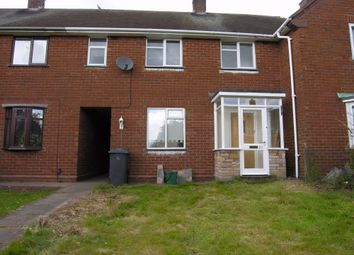 Thumbnail 3 bed terraced house to rent in Newey Road, Ashmore Park, Wolverhampton