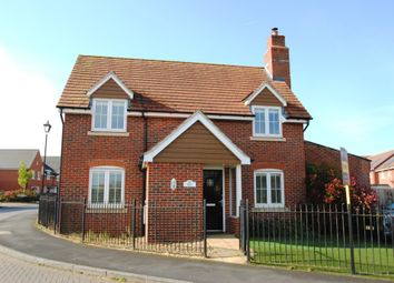Thumbnail 3 bed detached house for sale in Damson Drive, Hartley Wintney, Hook