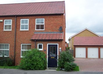Thumbnail 2 bed end terrace house to rent in Redwing Rise, Royston