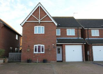 Thumbnail 4 bed detached house for sale in Grove Road, Martham, Martham, Great Yarmouth, Norfolk