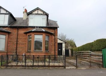 Thumbnail 3 bed semi-detached house for sale in Bridgend Road, Greenock
