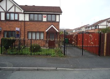 Thumbnail 3 bed semi-detached house to rent in Churchside Close, Blackley, Manchester