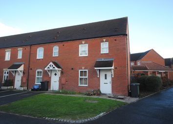 Thumbnail 3 bed end terrace house to rent in Beaconsfield Road, Market Drayton