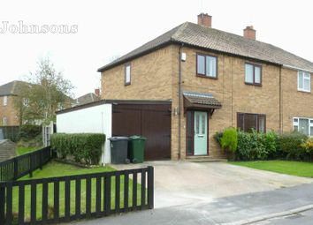 Thumbnail 4 bed semi-detached house for sale in Tennyson Avenue, Campsall, Doncaster.