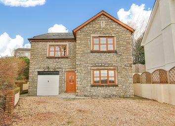 Thumbnail 5 bed detached house for sale in Church Road, Tonteg, Pontypridd