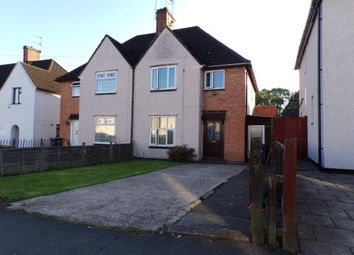 Thumbnail 3 bedroom semi-detached house for sale in Overpark Avenue, Braunstone, Leicester, Leicestershire