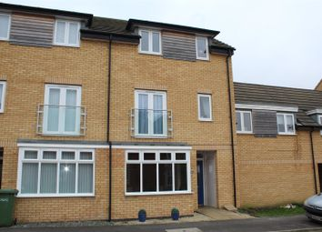 Thumbnail 4 bedroom town house for sale in Beadle Way, Gunthorpe, Peterborough