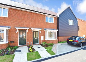 Thumbnail 2 bed terraced house for sale in Nuthatch Drive, Finberry, Ashford, Kent