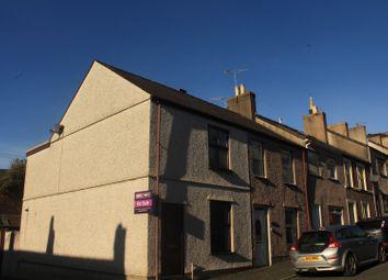 Thumbnail 2 bed end terrace house for sale in Hill Street, Caernarfon