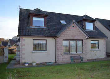 Thumbnail 3 bed detached house to rent in Donview Gardens, Kemnay, Aberdeenshire
