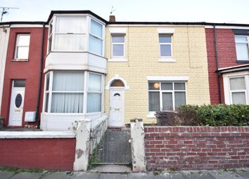 Thumbnail 2 bedroom terraced house to rent in Eaves Street, Blackpool, Lancashire