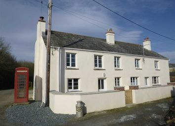 Thumbnail 3 bed semi-detached house to rent in Budds Cottages, Titson, Bude, Cornwall