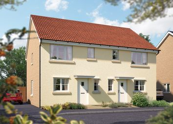 "Thumbnail 3 bed semi-detached house for sale in ""The Southwold"" at Valerian Gardens, Soham, Ely"