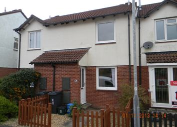 Thumbnail 2 bedroom terraced house to rent in Steel Close, Honiton