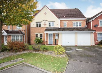 Thumbnail 6 bed detached house for sale in Violet Close, Bedworth, Warwickshire
