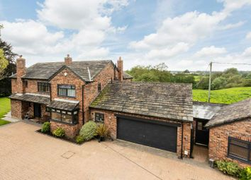 Thumbnail 4 bed detached house for sale in Pepper Street, Mobberley, Knutsford