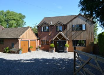 Thumbnail 4 bed detached house for sale in Bath Road, Speen, Newbury
