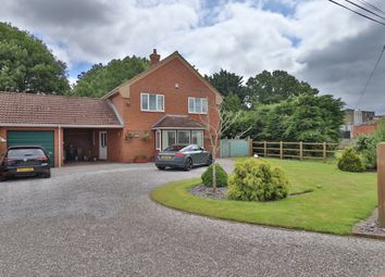 Thumbnail 4 bed detached house for sale in Mill Green, Burston, Diss