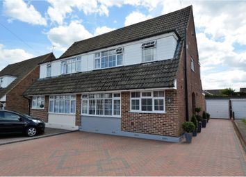 Thumbnail 4 bed semi-detached house for sale in Lime Grove, Brentwood