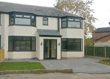 Thumbnail 4 bed semi-detached house for sale in The Oval, Heald Green, Cheadle, Stockport, Cheshire
