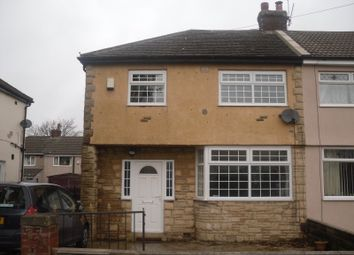 Thumbnail 3 bed semi-detached house to rent in Bromford Road, Bradford