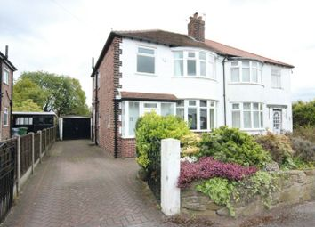 Thumbnail 3 bed semi-detached house for sale in Sandford Road, Sale
