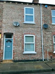 Thumbnail 2 bed terraced house to rent in Gladstone Street, York