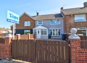 Thumbnail 3 bed terraced house for sale in Kimberley Drive, Middlesbrough