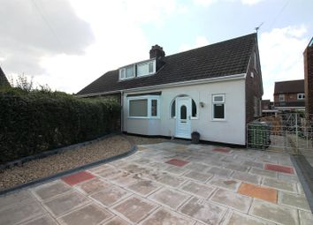Thumbnail 3 bedroom semi-detached bungalow for sale in Woodlands Avenue, Urmston, Manchester