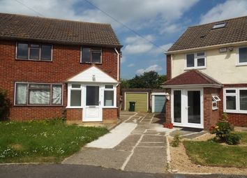Thumbnail 3 bed property to rent in Friends Close, Crawley