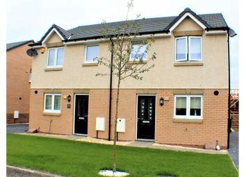 Thumbnail 3 bed semi-detached house for sale in Buttercup Crescent, Glasgow