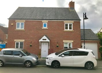 Thumbnail 4 bed detached house to rent in Tuscan Road, Swindon