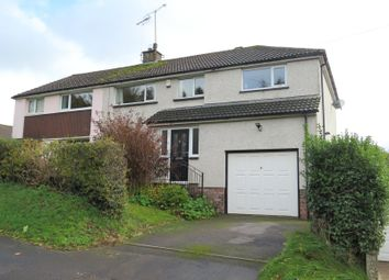 Thumbnail 5 bed semi-detached house for sale in Isel Road, Cockermouth, Cumbria