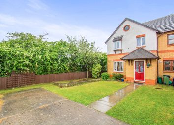 Thumbnail 3 bed semi-detached house for sale in Cwrt Y Garth, Beddau, Pontypridd