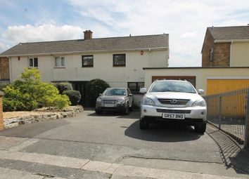 Thumbnail 3 bed semi-detached house for sale in Drax Gardens, Plymouth