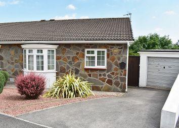 Thumbnail 2 bed semi-detached bungalow for sale in Ty Gwyn Drive, Brackla, Bridgend.
