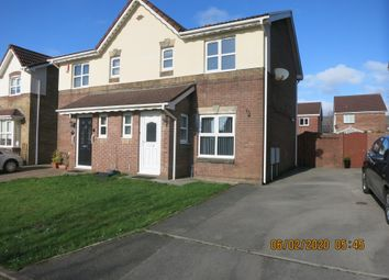 Thumbnail 3 bed semi-detached house for sale in 9 Rowan Tree Avenue, Baglan, Port Talbot.