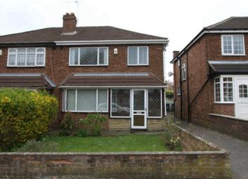 Thumbnail 3 bedroom semi-detached house to rent in Cherry Tree Avenue, Walsall