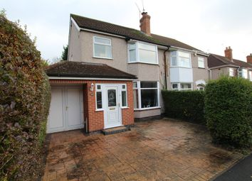 Thumbnail 3 bedroom semi-detached house for sale in Larch Tree Avenue, Coventry