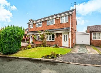 Thumbnail 3 bed semi-detached house for sale in Keasden Grove, Willenhall, West Midlands